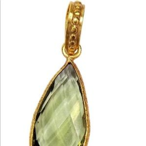 Sitara Collections Jewelry - Green Amethyst Necklace